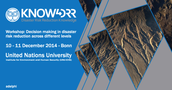 Know4DRR-Workshop-Bonn-Scira-Menoni-Sara-Massah-Graphic-designer